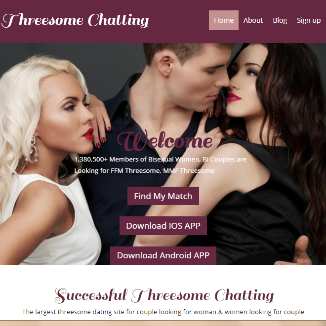 threesome chat